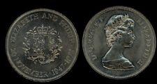 GREAT BRITAIN 25 New Pence 1972 Wedding Ann.ry  UNC