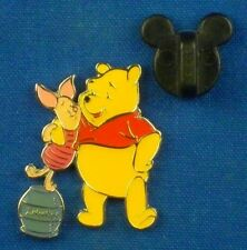 Pooh with Piglet Standing on Hunny Pot 100 Acre Collection OC Disney Pin # 3192