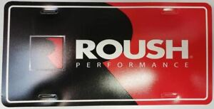 Roush Performance Dealer Plate * Hard To Find Collector Item * NEW Never Mounted