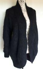 Tre Sur womens vintage 80's style oversized wool mohair blend cardigan jacket