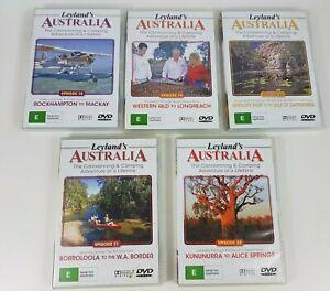 Leyland's Australia DVDs Episode 18, 19, 20, 21 & 22