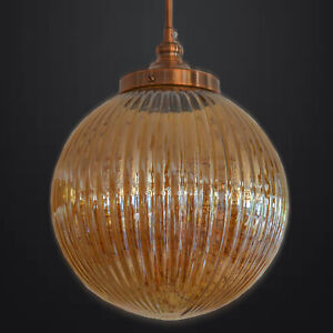 [SALE] £20 off Gold Glass Ceiling Light [801-LD170173]