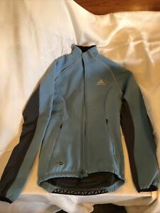 Adidas Thermal Glacier Cycling Jacket - Extra Small - Light Blue New w/ Tags