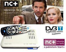 NC+ Start+ TNK Telewizja na karte Dekoder HD DVB-T COMBO 1Miesiac 130 kanałów