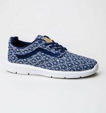 Zapatillas skate de mujer planos de color principal azul