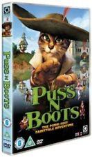 Puss N BOOTS Not Dreamworks DVD Region 2
