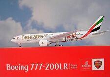 Herpa Wings 1 500 Boeing 777-200LR Emirates A6-ewj Arsenal 529235