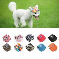 Pet Baseball Visor Puppy Sun Hat Dog Cat Cap For Small Large Dogs Outdoor HOT