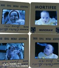 35mm Slide Lot 1971 Cute Chubby Little Baby Girl Newborn Family Portraits Child