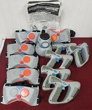 Laser Challenge Lot 5 Blaster Guns-6 Chest Targets-1 B.A.R.T. Robot Laser Tag
