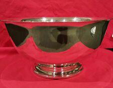 Webster Wilcox International Silver Co. 336/9 Silverplate Bowl