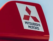 "MITSUBISHI MOTORS Evolution 6"" spoiler Sticker/Autocollant Kit, Evo Tommi Makinen x2"