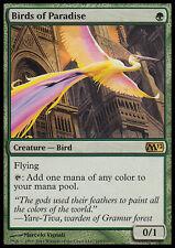 *FOIL* BIRDS OF PARADISE NM mtg M12 Green - Creature Rare
