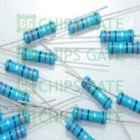 40PCS Metal Film Resistor 2W Watt 1% 100 ohm