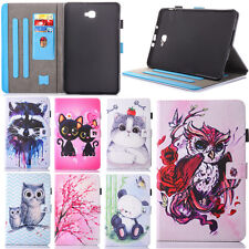 ColorFull Folio Flip Stand Leather Case Cover For Samsung Galaxy Tab A / Tab E