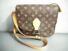 Authentic LOUIS VUITTON Monogram Saint Cloud GM M51242 Shoulder Bag TH1917