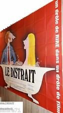 pierre richard LE DISTRAIT !  affiche cinema geante 240X320cm vintage 1970
