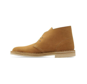 Clarks Originals Mens Desert Boots Ochre