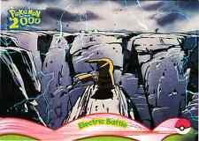 POKEMON THE MOVIE 2000, PIKACHU´S RESCUE ADVENTURE CARD # 9