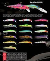 Each Sold Separately Matzuo Zanda Shad Suspending Crank Pick Size /& Color