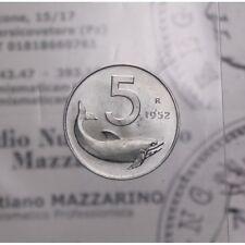 """5 Lire 1952 """"Delfino"""" (Repubblica Italiana) FDC LOT1796"""