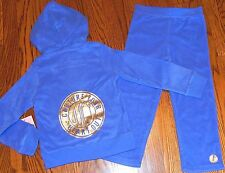 JUICY COUTURE TODDLERS/KIDS GIRLS BRAND NEW HOODED SET SPORT SUIT Size 2T, NWT