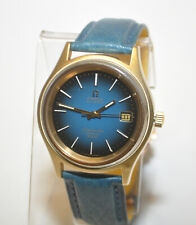 OMEGA Seamaster Cosmic 2000 Automatic Gold & SS Case Blue Gradient Dial Watch