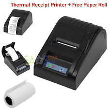 POS ESC Cash Thermal Dot Receipt Printer 58mm USB Bill Paper Print Stores Retail