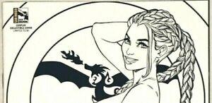 Grimm Fairy Tales #38 Vol 2 SDCC Lola Bunny Cosplay B&W Z-Cover Chatzoudis LE 50