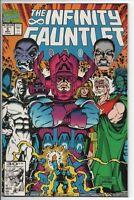 Marvel Comics The Infinity Gauntlet #5 of 6 Nov. '91 VF Starlin, Lim and Perez