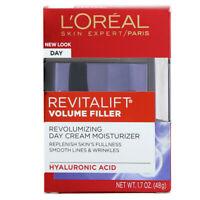 L'Oreal, Revitalift Volume Filler, Revolumizing Day Cream Moisturizer, 1.7 oz