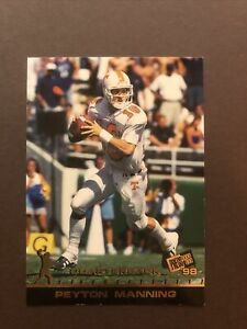 1998 Press Pass Peyton Manning Rookie Card RC Colts Tennessee Volunteers