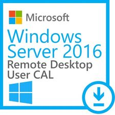WINDOWS SERVER 2016 CAL RDS REMOTE DESKTOP SERVICE TERMINAL SERVER 50 USER