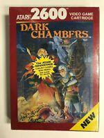 Dark Chambers Atari 2600 Brand New Factory Sealed NIB Complete CIB