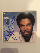 Billy Ocean AUTOGRAPHED 3Cd box set The Real Billy Ocean-see photo Signing proof
