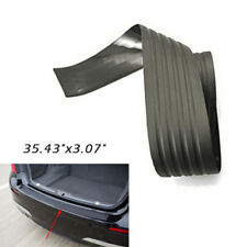 "35.43"" x 3.07"" Black Car Rubber Sill Plate Bumper Guard Protector Pad Cover Trim"