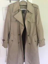 Christian Dior Homme Trench Coat Top Jacket Parka L 40 Tan Kim Jones Cd