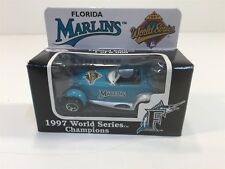 1997 Florida Marlins World Series Baseball Limited Edition Prowler Matchbox NIB