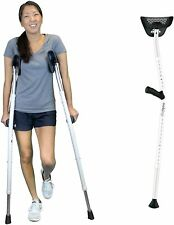 """✨ NIB Mobilegs Ultra Crutches Pair 4'9"""" to 6'4"""" up to 300lbs NEW ✨"""