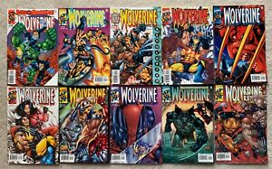 Marvel Comics Wolverine #148 - 157 (10 Book Lot)