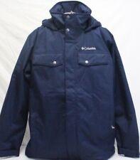 Columbia Men's Thermal Coil Interchange Waterproof Jacket Navy Large NWOT