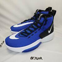 Nike Zoom Rise Rize Size 6 Hyperchaos Blue Basketball Shoes Sneakers BQ5468-400