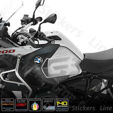 2 Adesivi Fianco Serbatoio BMW R 1200 1250 gs Adventure LC gray black dark gray