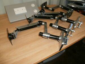 Ergotron Desk Monitor Arm Stand - Polished Aluminum