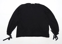 Zara Womens Size S Black Jumper (Regular)