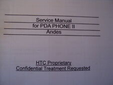 HTC SERVICE MANUAL REPAIR  FOR PDA PHONES II 2001-2005 77 PAGES