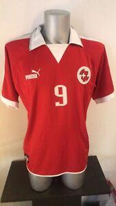switzerland jersey puma match worn Vs Ireland Alexander Frei