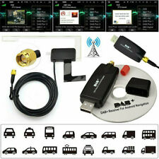 Car DAB + Antenna Transmitter W/ USB  Adapter Receiver For Android Stereo Player