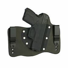 FoxX Leather & Kydex IWB Hybrid Holster Springfield XD-S 4.0 9/45 Black Right