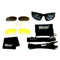 Daisy X7 UVA/UVB Tactical Military Style Glasses Goggles Motorcycle SunglasseHWU